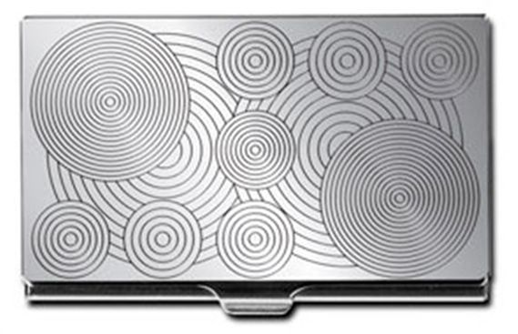 ACME Panton Inspired Etched Card Case