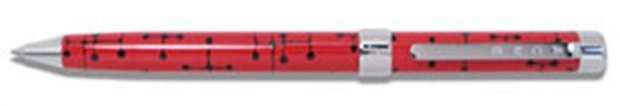 ACME Brand-X Eames Inspired Red Dots Ballpoint Pen