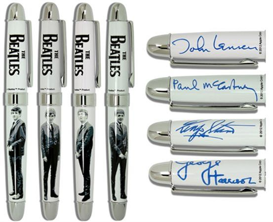 ACME Limited Edition Beatles Liverpool 4 Pen Set