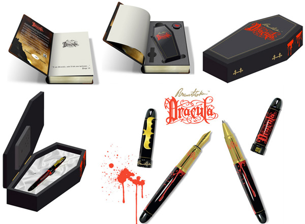ACME Limited Edition Dracula Convertible Rollerball / Fountain Pen