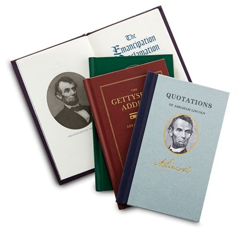 Abraham Lincoln Boxed Gift Set of Presidential Wisdom