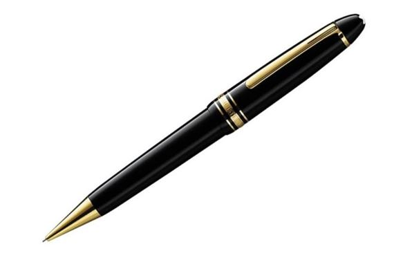 Montblanc Meisterstuck LeGrand 0.9mm Pencil with Gold Trim