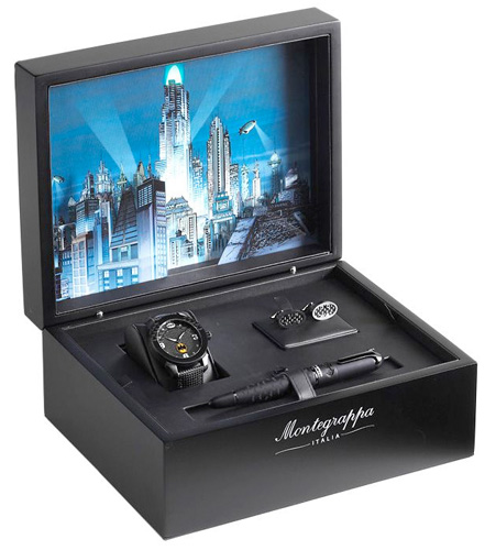 Montegrappa Limited Edition Batman Rollerball Set