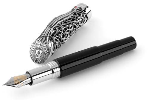 Montegrappa Limited Edition Brain Fountain Pen