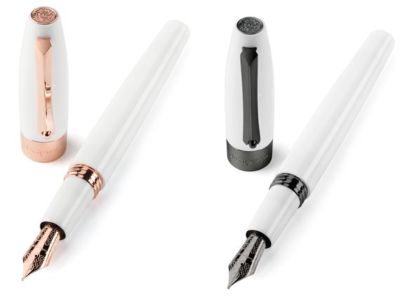 Montegrappa Fortuna White Fountain Pen