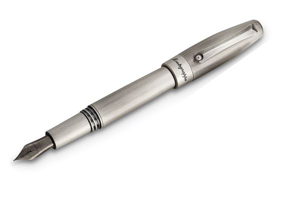 Montegrappa Fortuna Silver Mule Fountain Pen