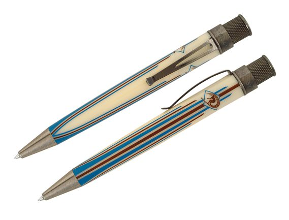 Retro Limited Edition Surfin' Tornado Popper Rollerball / Ballpoint Pen