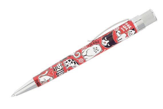 Retro 51 Tornado Rescue Ballpoint Pen - Cat