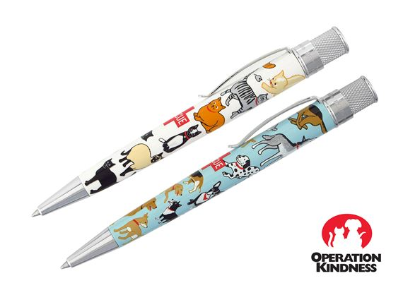 Retro 51 Tornado Rescue Cat & Dog 2nd Edition Ballpoint Pen
