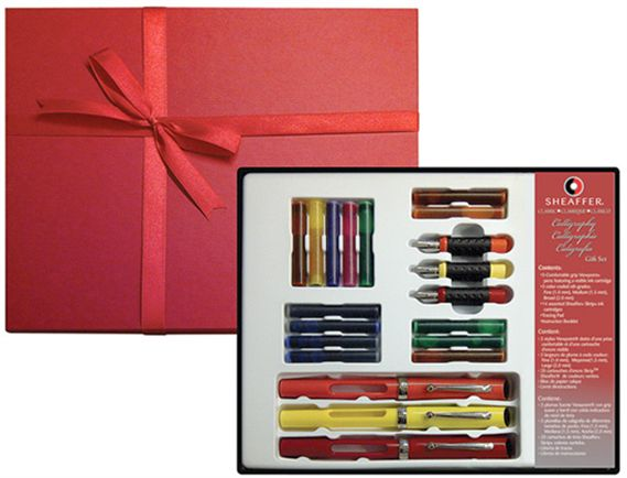 Sheaffer Calligraphy 3 Pen Gift Set