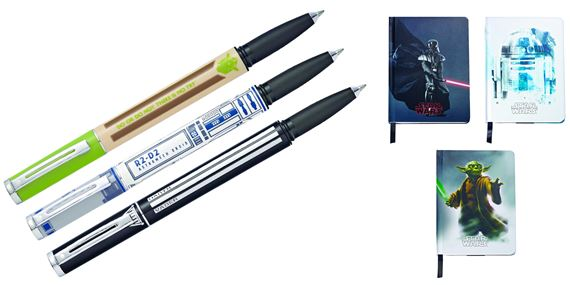 Sheaffer Star Wars POP Rollerball / Journal Set