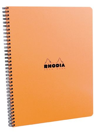 Rhodia Wirebound Waterproof Lined Notebook 9 x 11