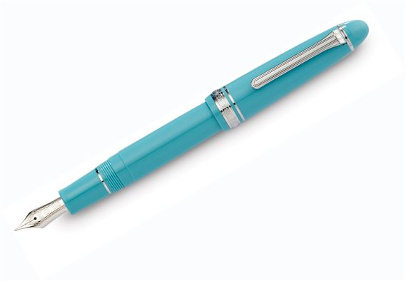 Sailor 1911 Large Fresca Blue Fountain Pen