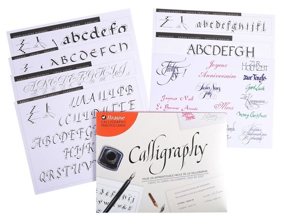 Exaclair Introduction To Calligraphy