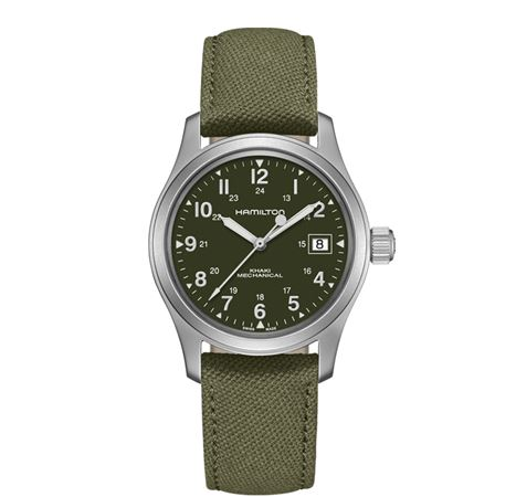 Hamilton Mens Khaki Field Officer Mechanical Watch