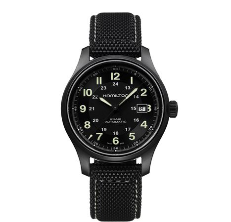 Hamilton Mens Khaki Field Titanium Automatic Watch