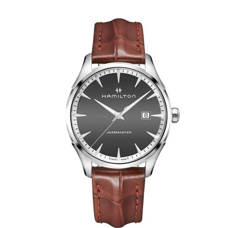 Hamilton Jazzmaster Gent Quartz Watch - Brown/Black