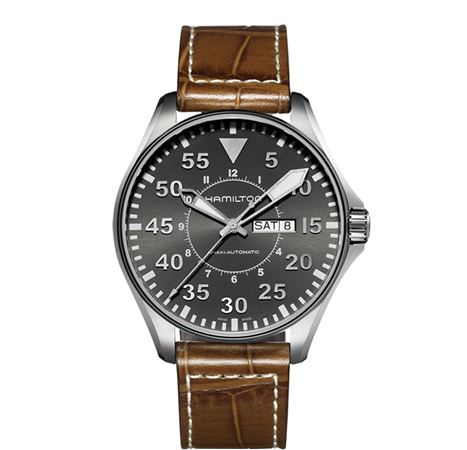 Hamilton Mens Khaki Pilot Automatic Watch - 46mm