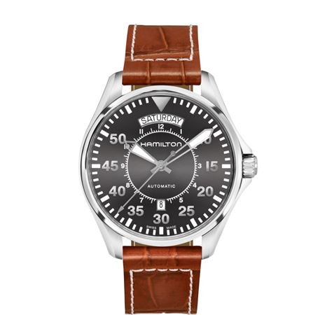 Hamilton Mens Khaki Pilot Automatic Watch - 42mm
