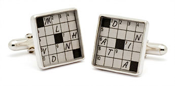 Tokens and Icons New York Times Crossword Cufflinks