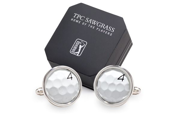 Tokens and Icons TPC Sawgrass Golf Cufflinks