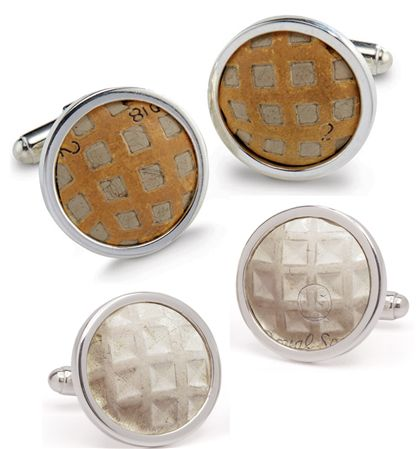 Tokens and Icons Vintage Golf Ball Cufflinks