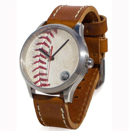 Token and Icons MLB Game-Used Baseball Watch