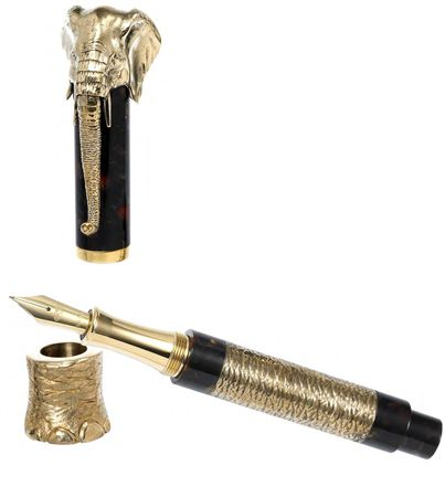 Urso Luxury Bronze Elephant Fountain Pen