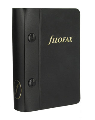 FiloFax Pocket Storage Binder