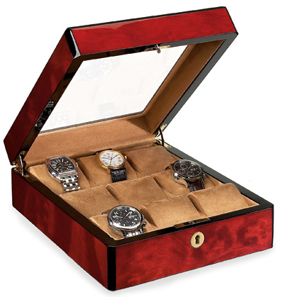 Venlo Tripleburl 9 Slot Watch Case