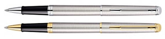 Waterman Hemisphere Stainless Steel Rollerball Pen