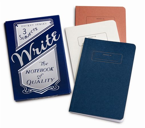 Write Notepad Pocket Notebook Set
