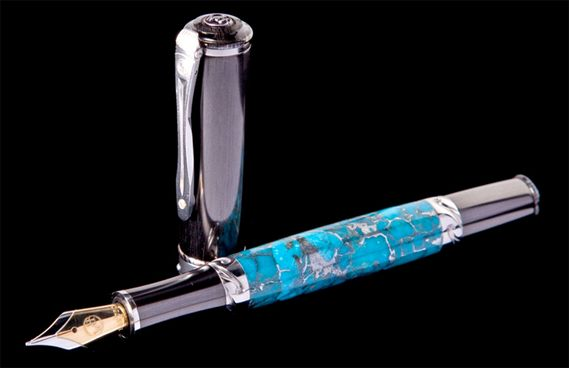 William Henry Limited Edition Cabernet Jerome Fountain Pen