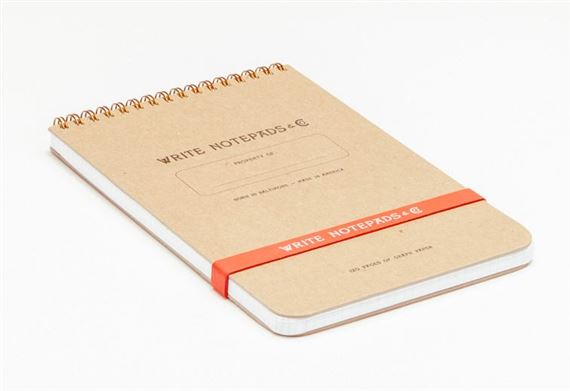 Write Notepads Graph Paper Steno Notebook 5.5 x 8.5