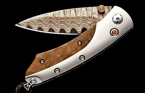 William Henry Limited Edition Pikatti Crest Knife