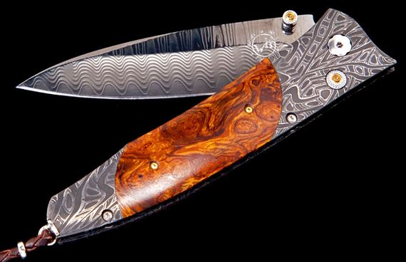 William Henry B30 Stockade Desert Ironwood Knife