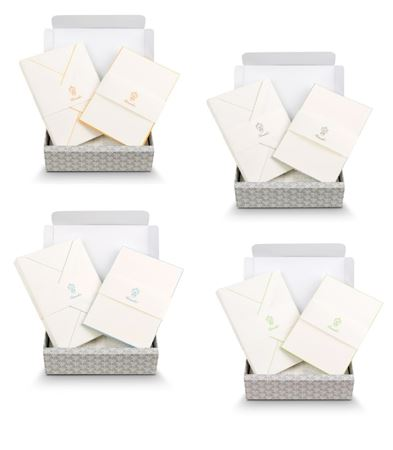 Pineider Capri Ribbon Stationery Cards - 15/15