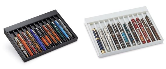 Monteverde Deluxe Collectors 12-Slot Pen Tray