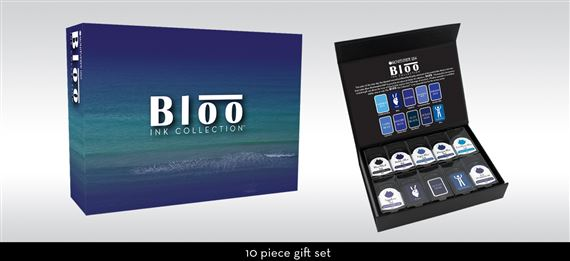 Monteverde Bloo 10 bottle ink set