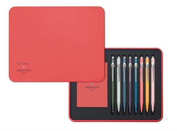 Caran D'ache Paul Smith 849 Edition Two 8 Pen Set
