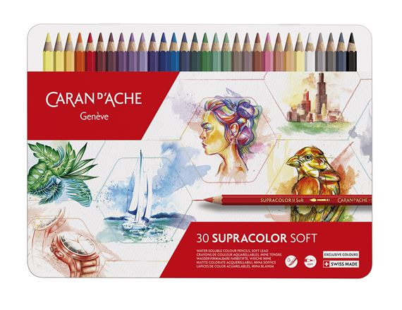 Caran D'ache Limited Supracolor Soft 30th Anniversary Set