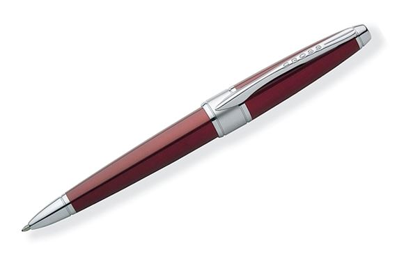 Cross Apogee Red Lacquer Ballpoint Pen