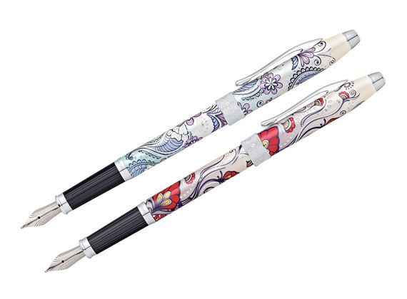 Cross Botanica Chrome Trim Fountain Pen