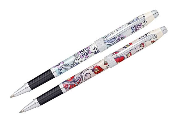 Cross Botanica Chrome Trim Rollerball Pen