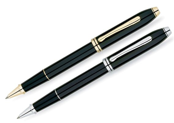 Cross Townsend Black Lacquer Rollerball