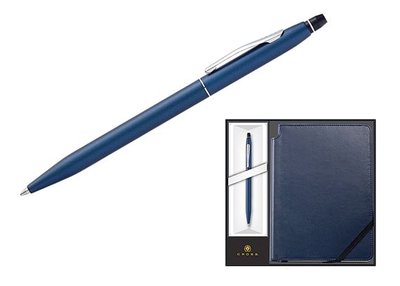 Cross Click and Journal Pen Set - Blue