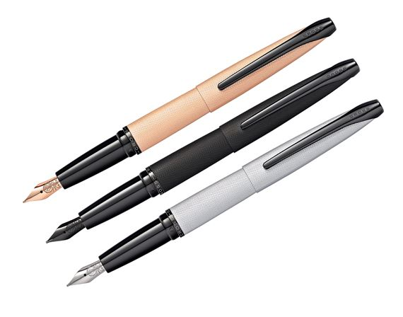 Cross ATX Brushed Metal Fountain Pen