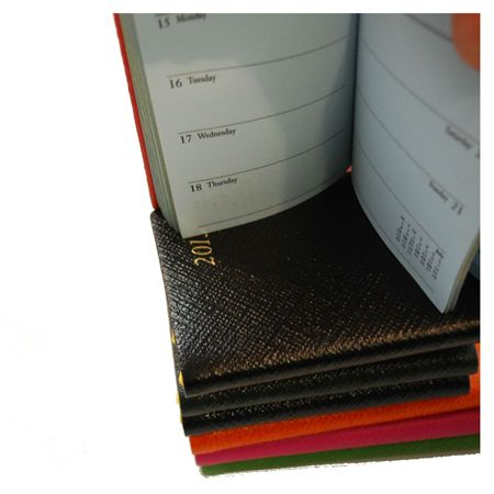 Charing Cross 2017 Leather 3x2 Planner