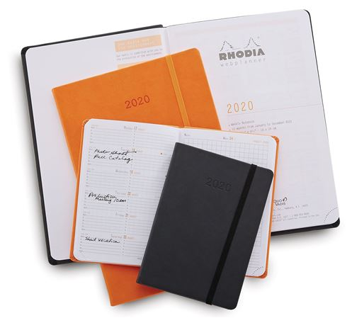 Rhodia 2020 Weekly Planner  4 x 6
