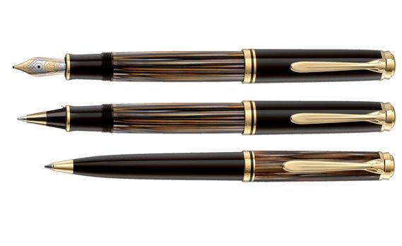 Pelikan Special Edition M800 Brown Tortoiseshell Fountain Pen